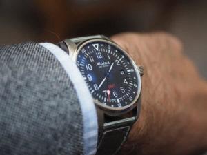 Alpina Pilot GMT